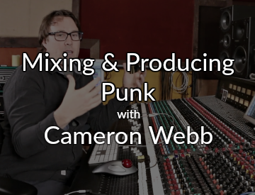 Producing & Mixing at Echobar Studios with Bob Horn and Erik Reichers