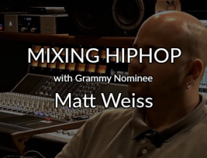 mixing hip hop with matt weiss