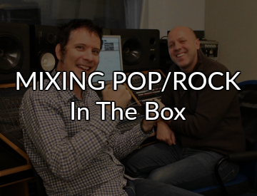 Mixing Pop Rock in the box - Ken Sluiter