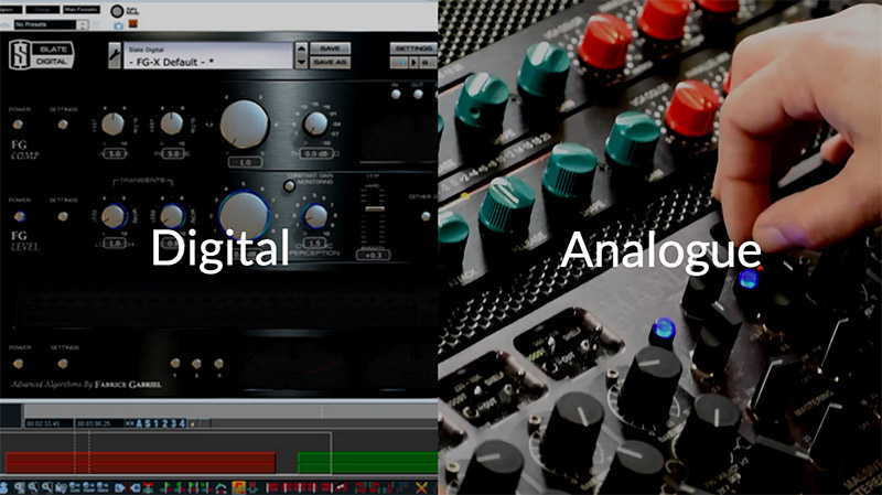 digital mastering vs analogue