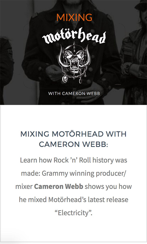 Mixing-Motorhead_Cameron-Webb