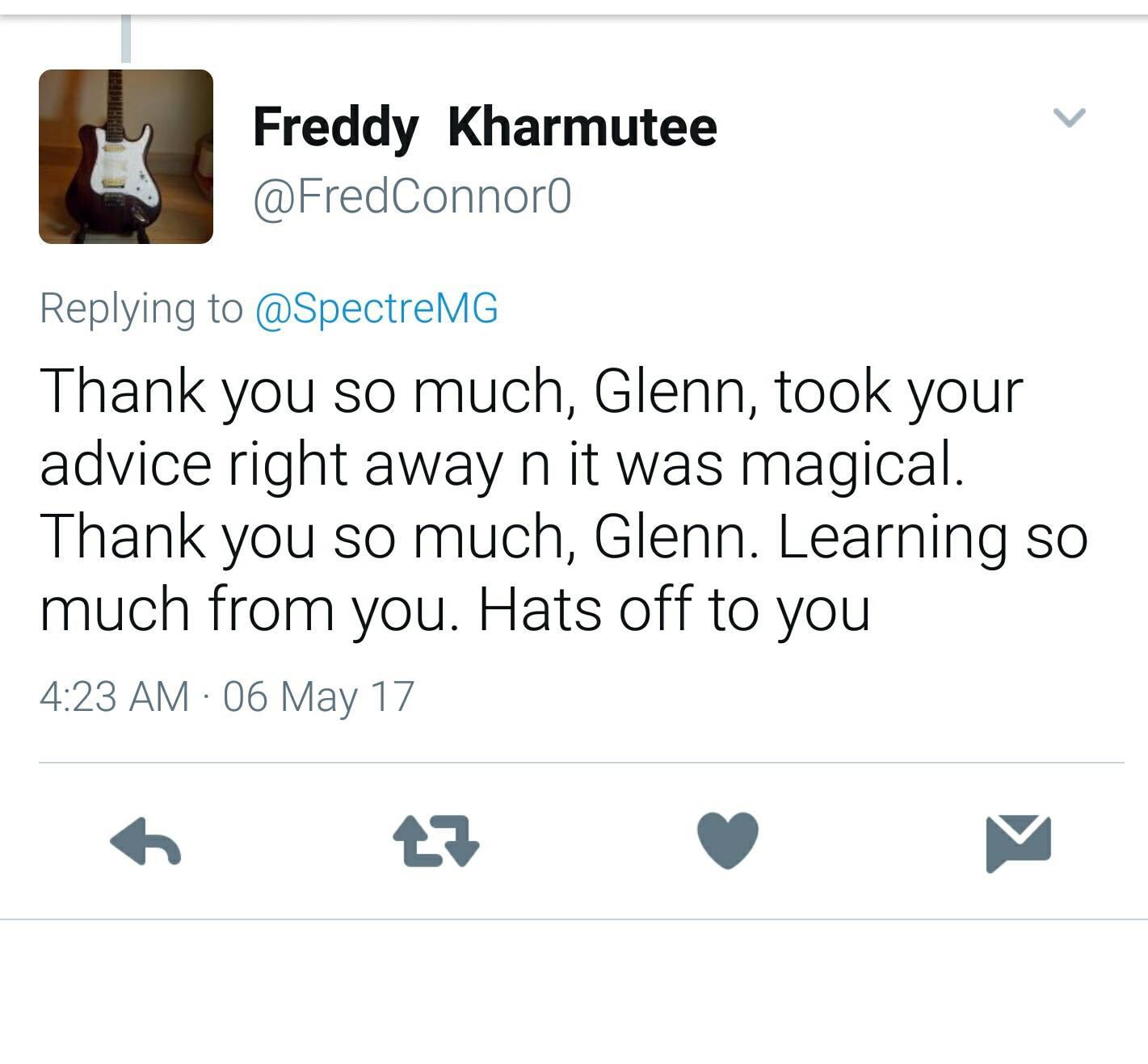 Glenn Fricker Reviews
