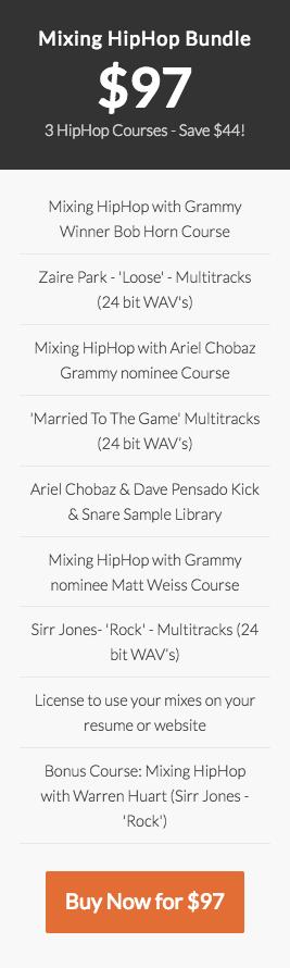 Mixing HipHop course Bundle