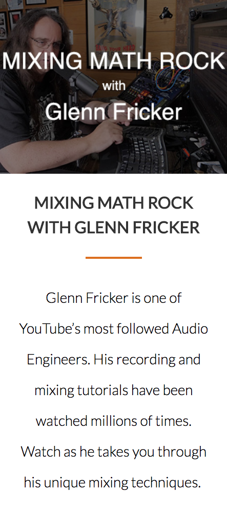 Glenn Fricker Math Rock