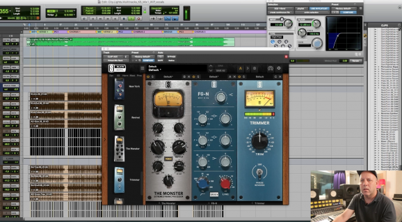 Mixing music with plugins on your computer