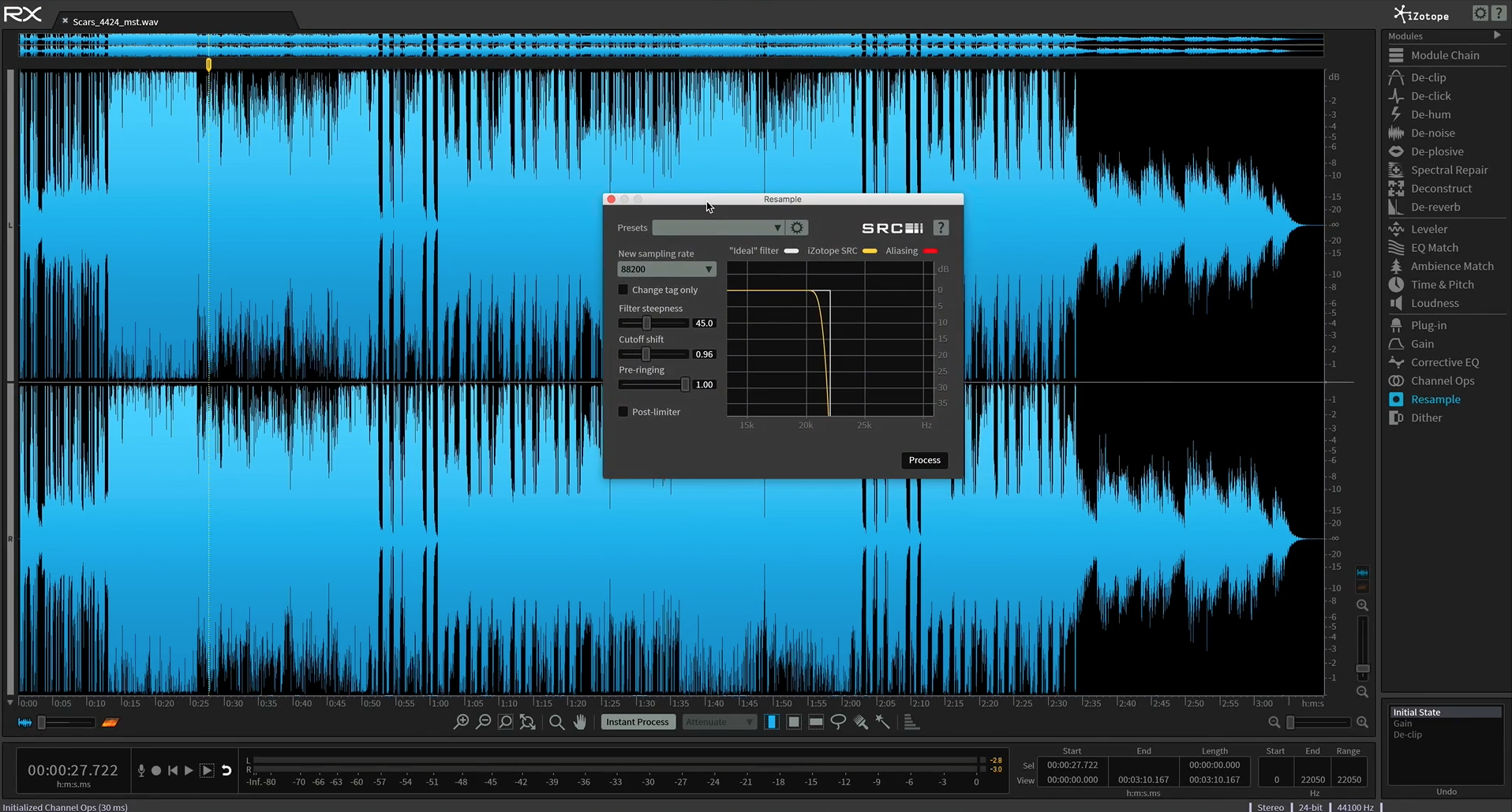 audio repair tutorial izotope rx