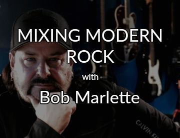 mixing modern rock with bob marlette