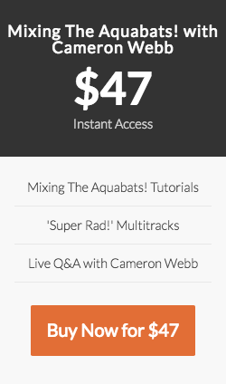 Mixing The Aquabats! with Cameron Webb Course