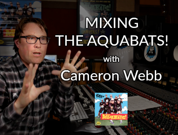 mixing the aquabats with cameron webb