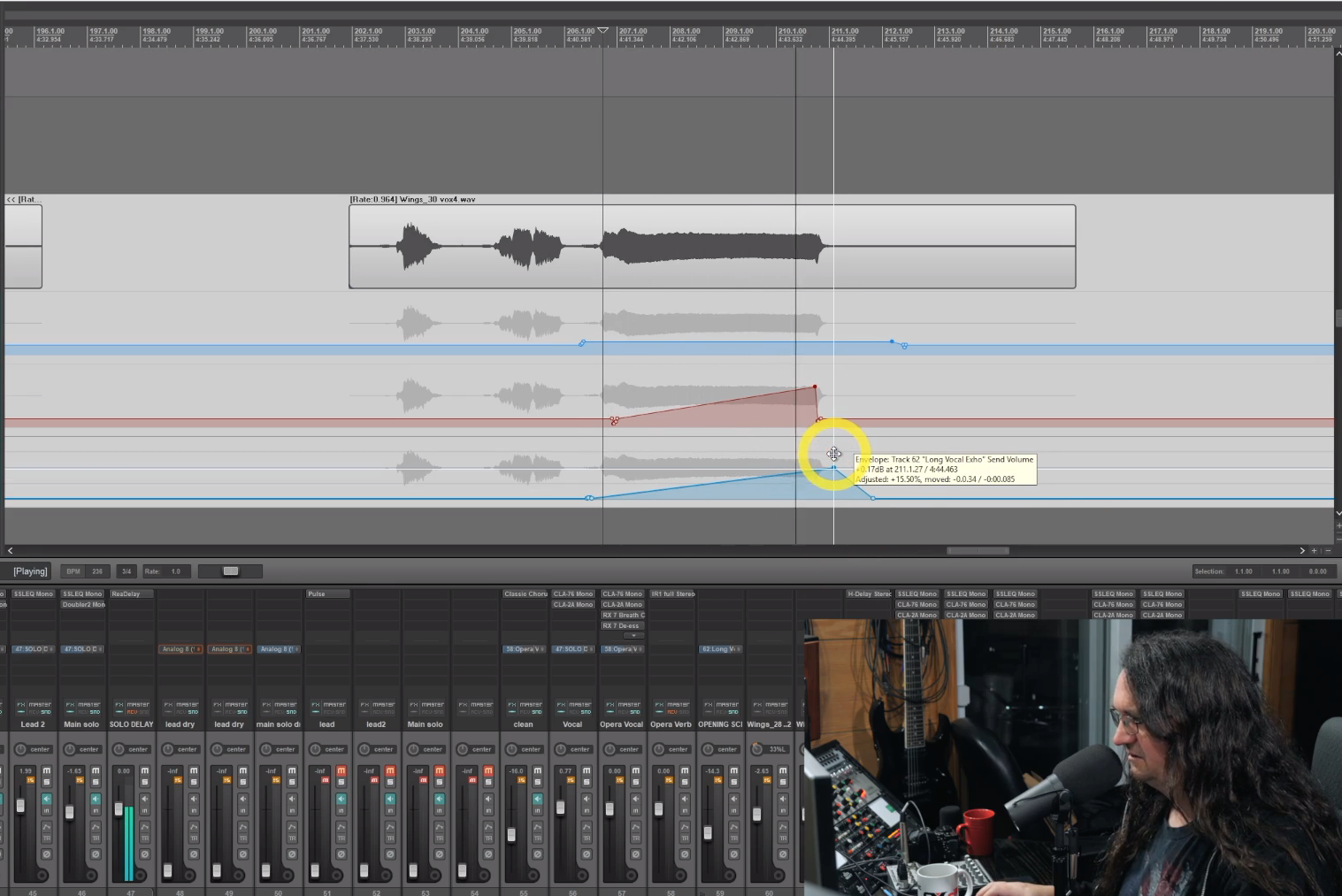 mixing music with automation