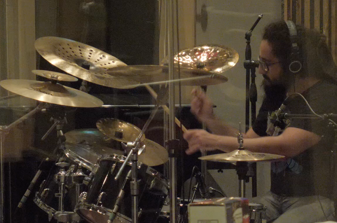 Mixing Drums with Glenn Fricker