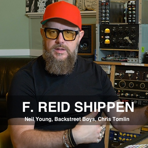 Producer Mixer F. Reid Shippen Pro Mix Academy Mentor
