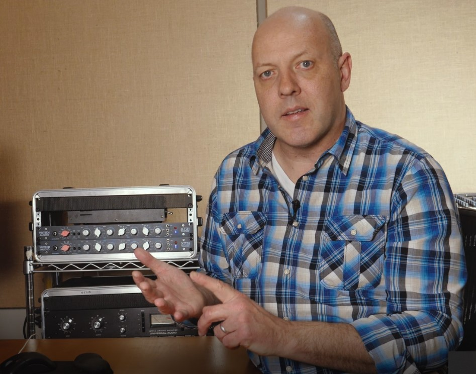 Ken Sluiter explains mixing music