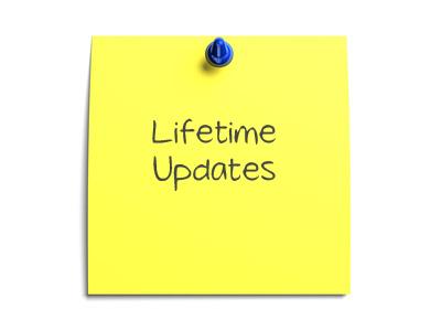 lifetime update