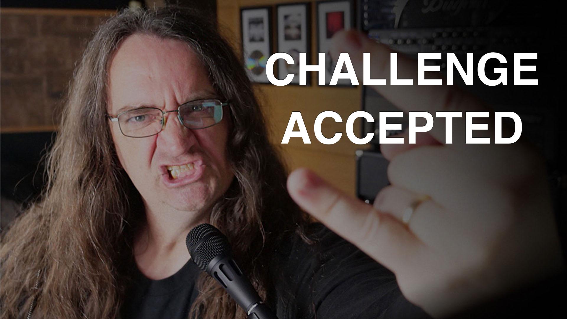 mixing metal challenge glenn fricker