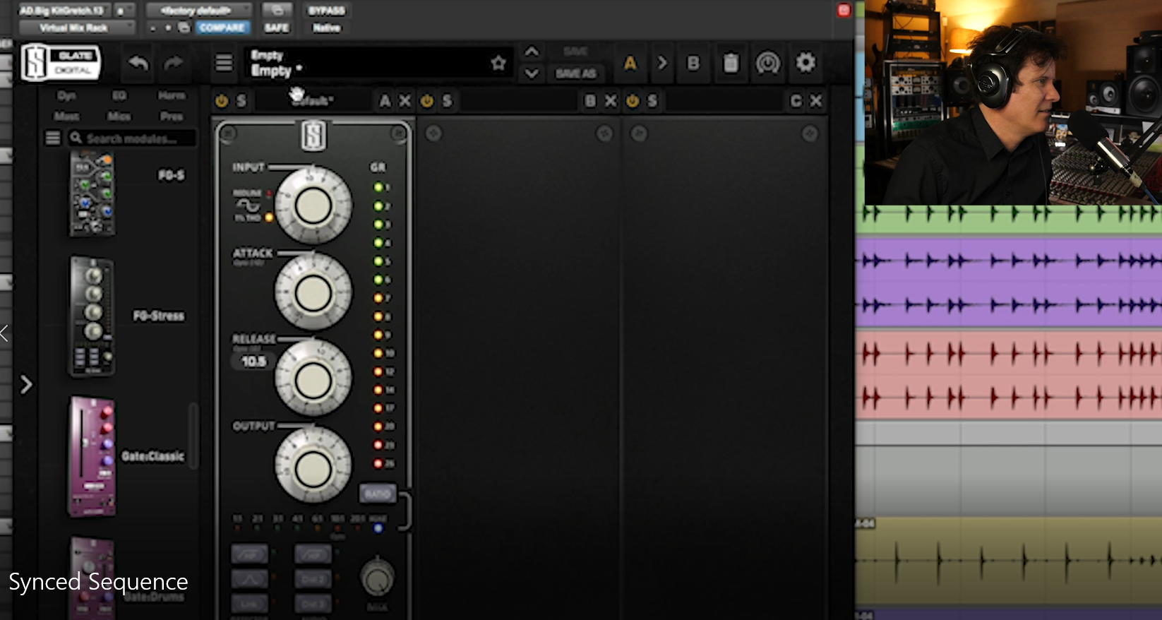 Mixing drums slate plugins