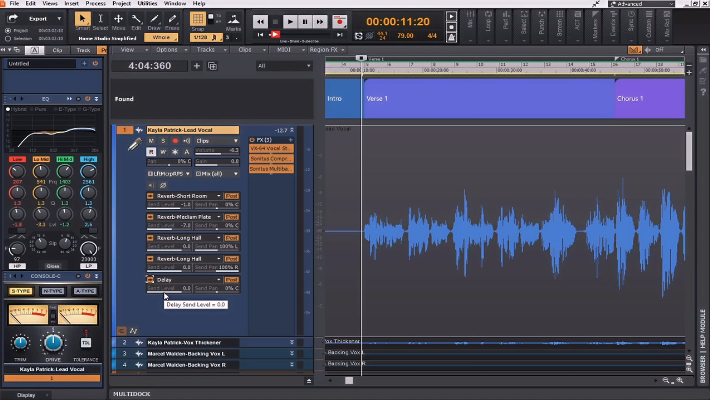 Mixing Music in Cakewalk by Bandlab 1