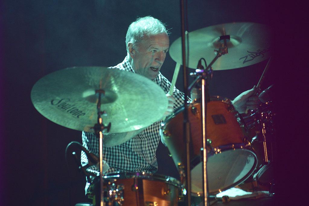 Mixing Drums John Steel