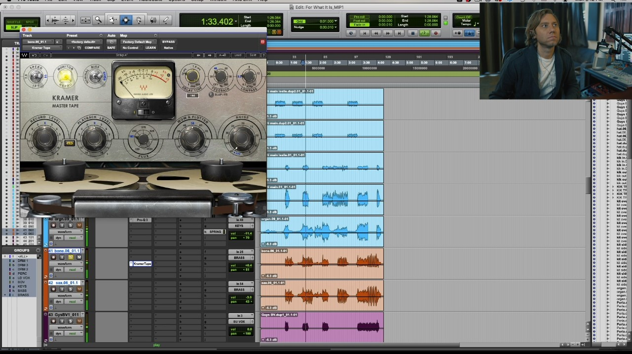 Mixing drums with plugins