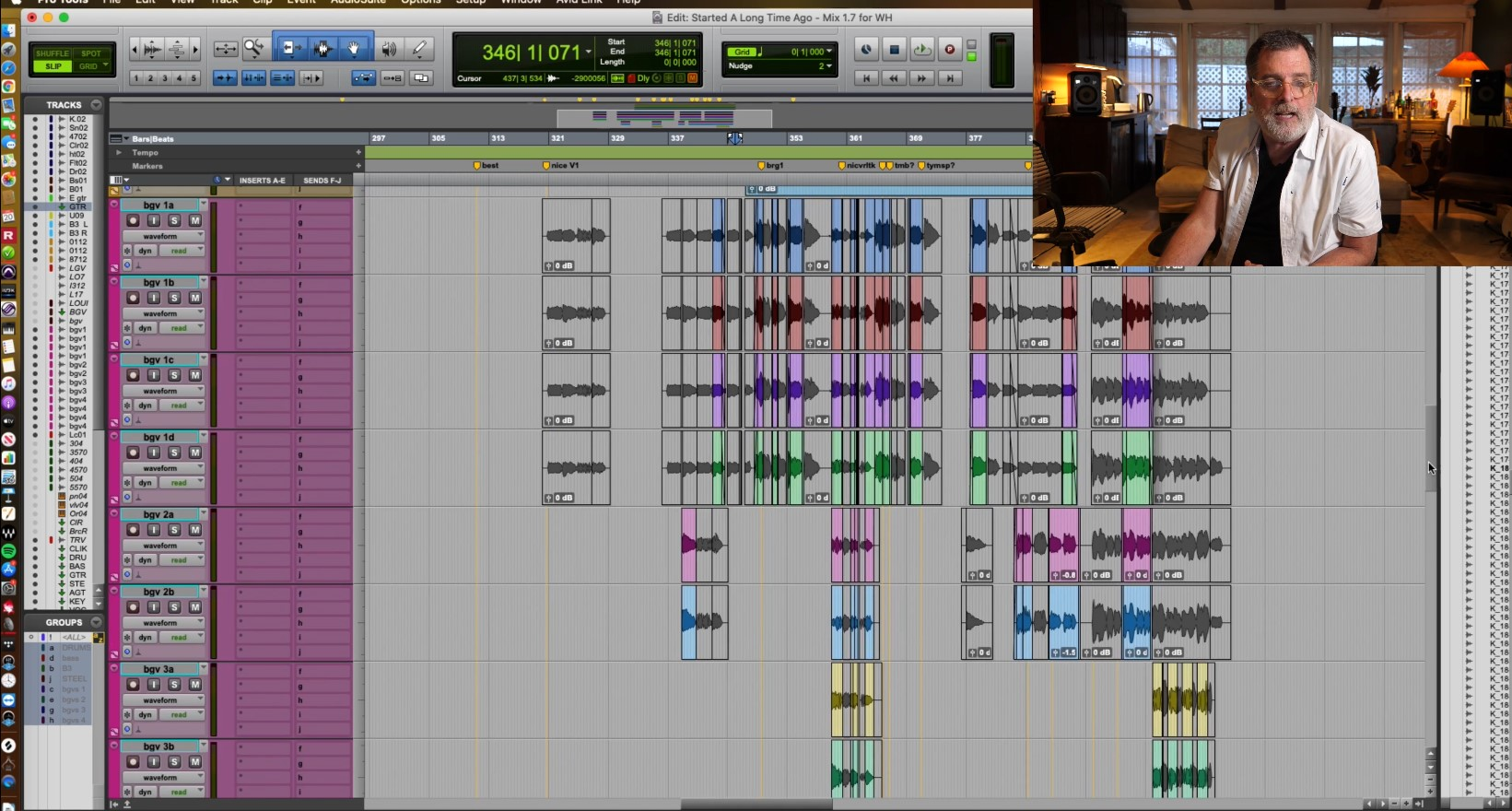 editing and song arrangement