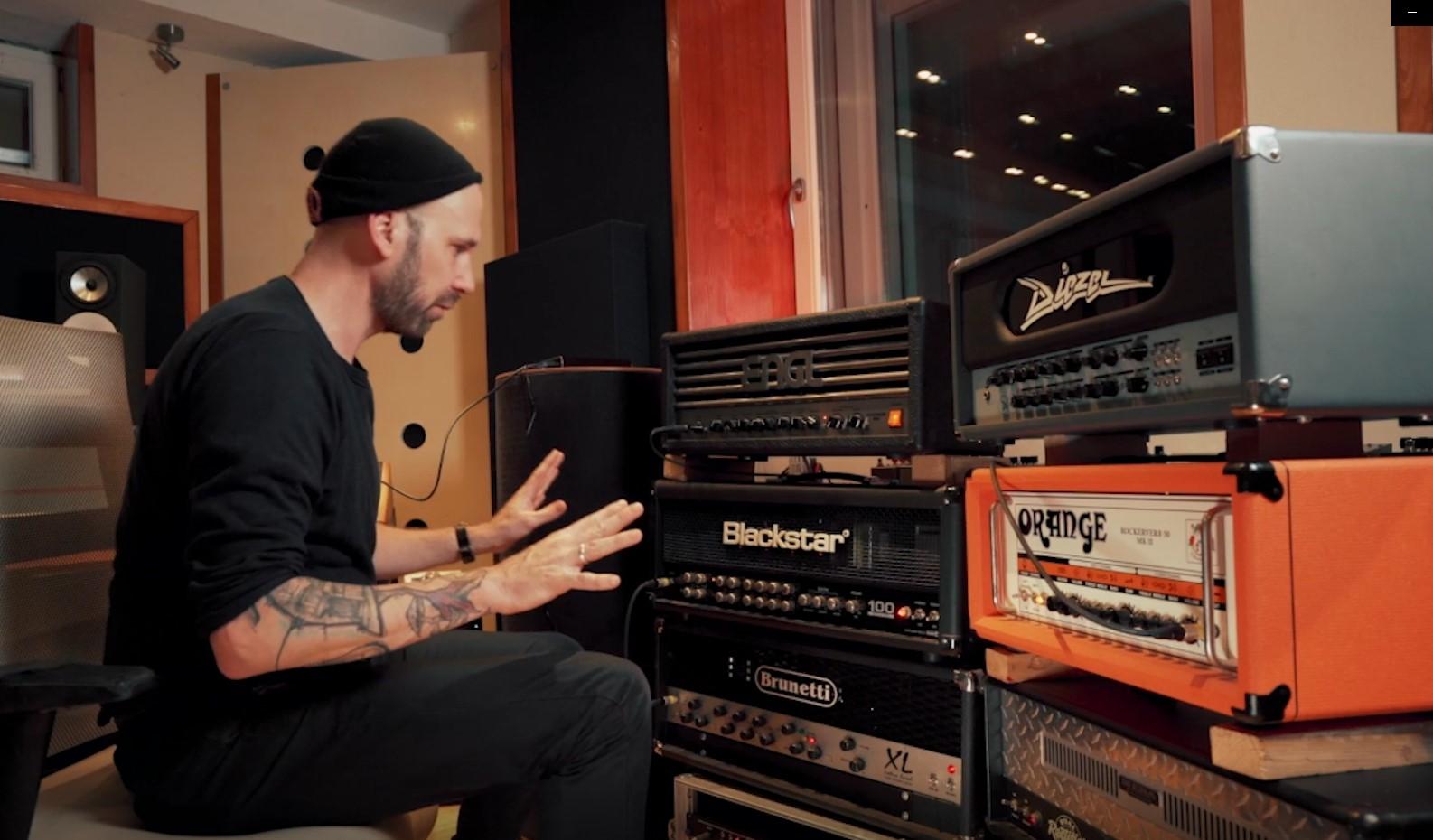 Kristian Kohle guitar amps and tones