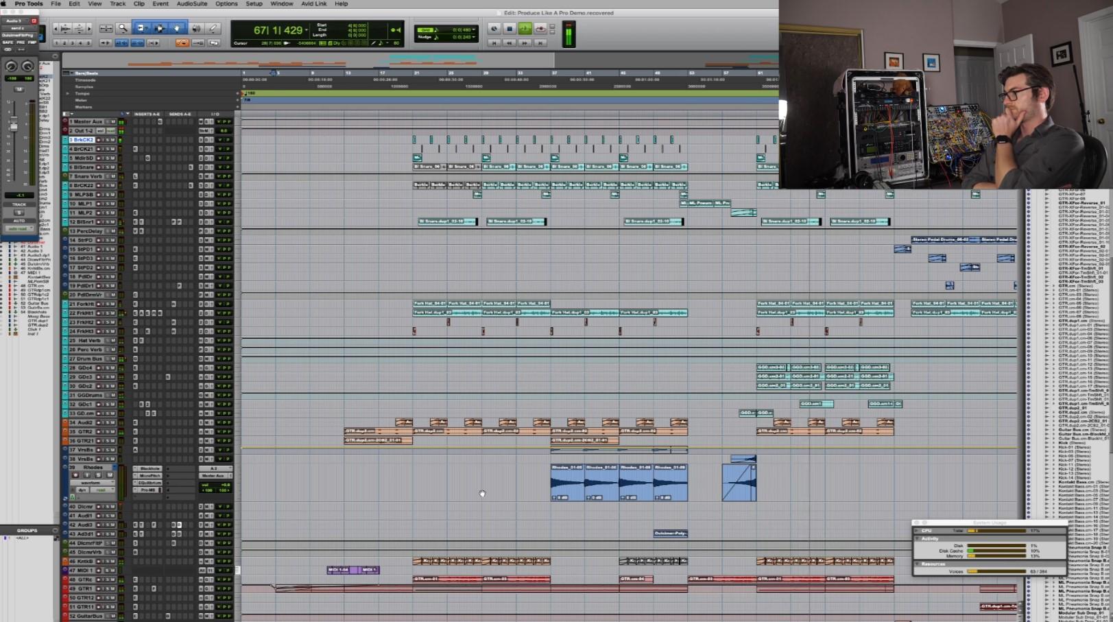 Matt Lange EDM Production Arrangement