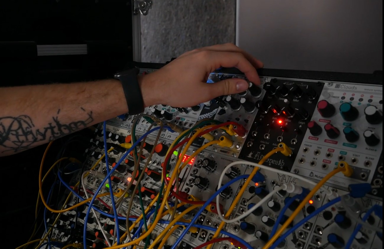 Matt Lange EDM Production Modular Synth