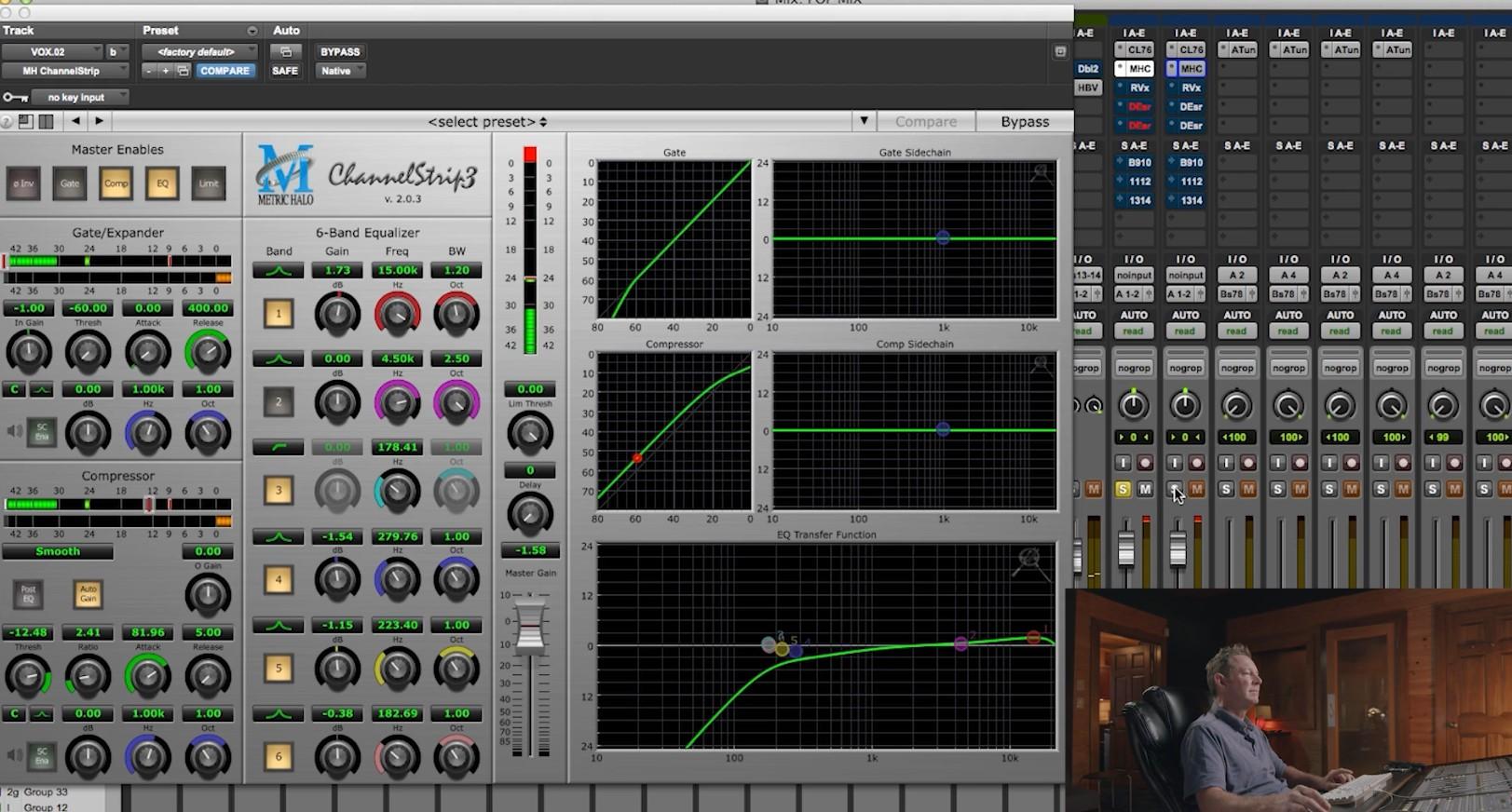 Temlate mixing music billy decker EQ