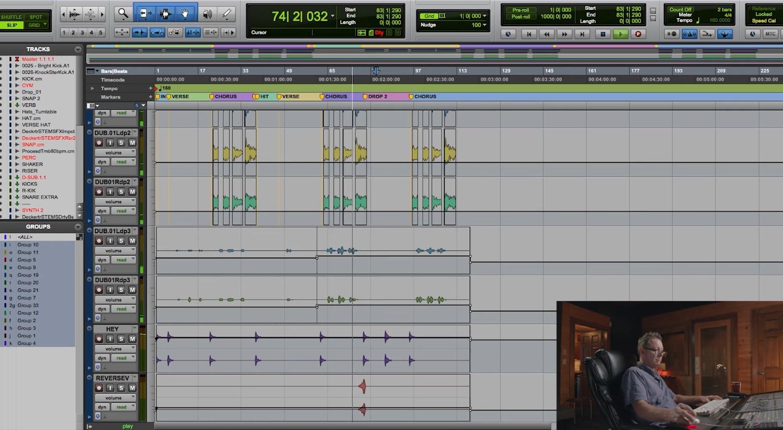Template Mixing Music Multitracks2