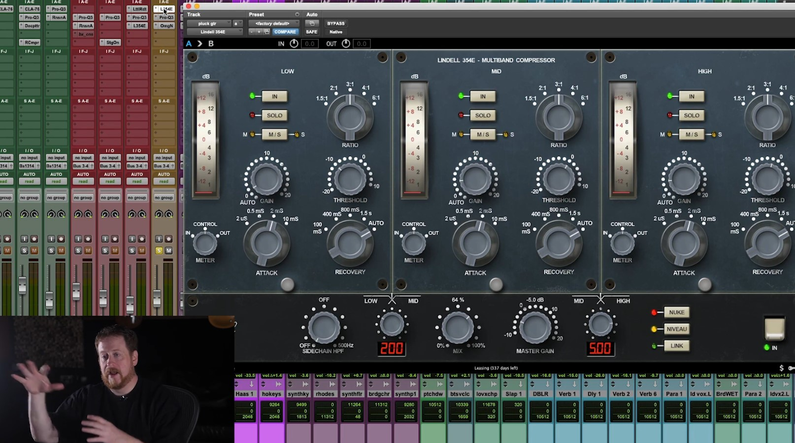Mixing r&b with bob horn
