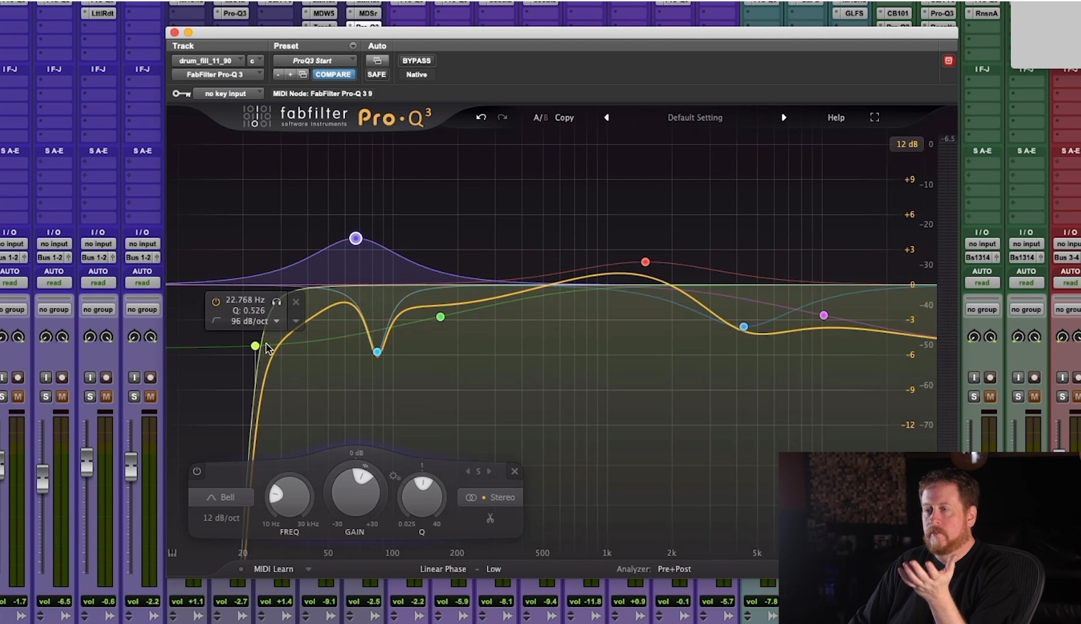 Mixing with EQ Bob Horn course